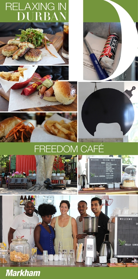 Freedom Cafe - On our Markham list of of hot spots to visit
