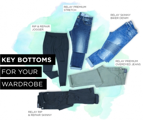 Key bottoms for your wardrobe