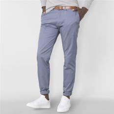 Belted Slim Leg Chino
